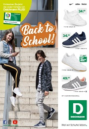 Deichmann Prospekt Back to school