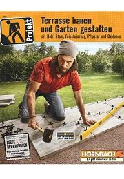 Hornbach Prospekt Terrasse & Garten