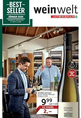 Interspar Weinwelt Prospekt