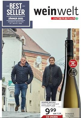 Interspar Weinwelt Jänner 2021