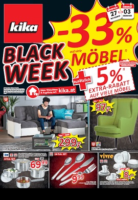 Kika Prospekt Black Week