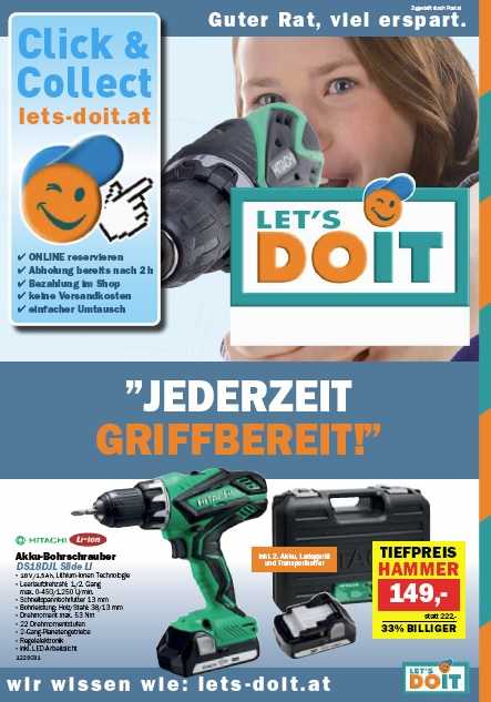 Let's do it Werkzeugkatalog