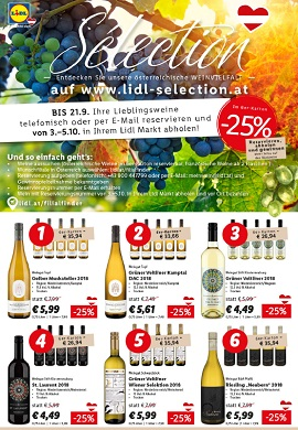 Lidl Selection Sonderumschlag