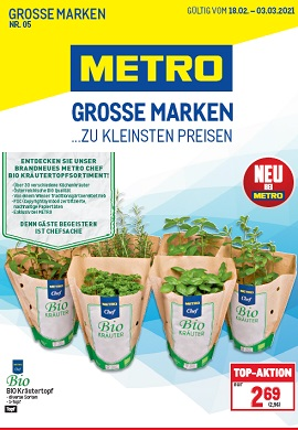 Metro Grosse Marken