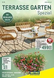 Metro Terrasse Garten Spezial