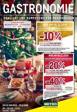 Metro Prospekt Gastronomie