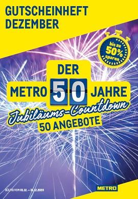 Metro Gutscheinheft Dezember