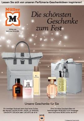 Müller Parfümerie Geschenkideen