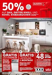 XXXLutz Prospekt Küchenaktion